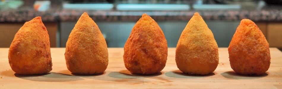 Arancino, a szicíliai street food