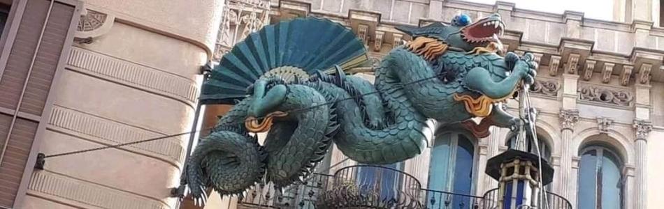Barcelona, a sárkányok és Szent György városa